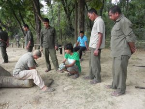 Foot trimming in Bardia