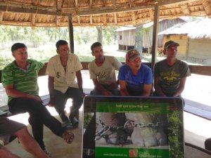 Working with mahouts to improve elephant welfare