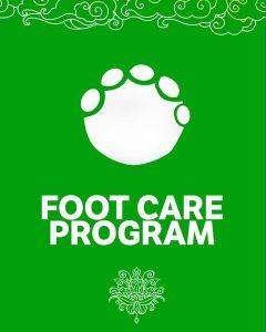elephant foot care program prayer flag